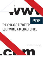 Chicago Reporter Cultivating a Digital Future Medill Fall2011