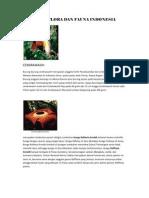 Kliping Flora Dan Fauna Indonesia