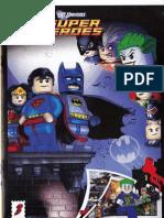 LEGO Superheroes Set 6858 Comic Book