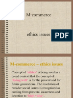 Ethics Issues(E)