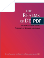 The Realms of Desire - An Introduction to the Thought of Bernard Lonergan