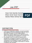 Transistores JFET