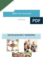 Taller de Memoria SOCIAL