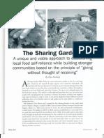 Sharing Gardens