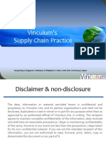 Vinculum's Supply Chain Practice