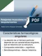 Relajantes Musculares No Despolarizantes