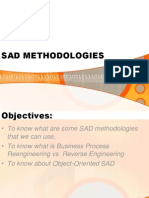 6 - SAD Methodologies or Frameworks - Pro to Typing