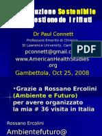 Relazione Paul Connet Gambettola Oct 25 , 2008