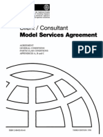 FIDIC Client Consultant Agreement 1998 (White Book)