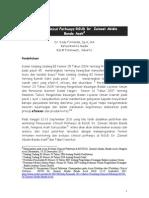 Dody Firmanda 2011 - Evaluasi Penerapan Clinical Pathways di RSUD Zainoel Abidin Banda Aceh 19 Desember 2011