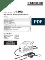 Karcher K 1.302 Manual 5961-0550
