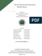 Kedudukan Pancasila Dalam Konteks Ketatanegaraan Republik Indonesia - Makalah Pkn - Final