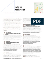 An a-Z Guide to Being and Architect