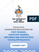 Exam and GPA Regulations 2008