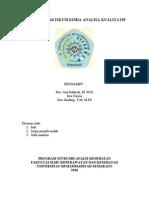 Laporan Praktikum Kimia Analisa Kuantitatif