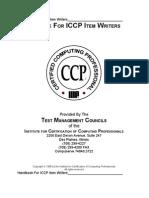 Handbook for Iccp Item Writers