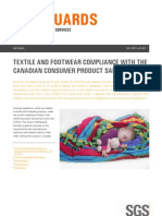 Sgs Safeguards 12211 Textile and Footwear Compliance With the Canadian Consumer Product Safety Act Cn en 11