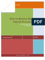 Rolling Back Payroll