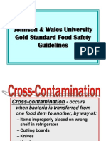 JWU Food Safety Guidelines