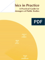 a4 - Ethics in Practice - A Practical Guide for Managers of Public Bodies