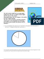 Handout 1.8. a Global Warming