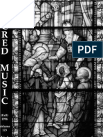 Sacred Music, 123.3, Fall 1996; The Journal of the Church Music Association of America