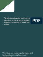 Employee Satisfaction 1