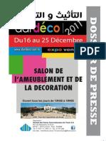 Dossier de Presse dardéco 2011 (avec photos)