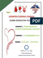 Poster Kempen Derma Darah