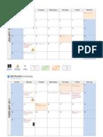 Monash Calendar