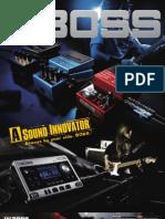 Boss Catalog 2011