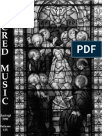Sacred Music, 125.1, Spring 1998; The Journal of the Church Music Association of America