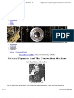 Feynman and the Connection Machine