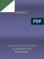 a Power Point Tehnologia de Fabricare a Conservelor Din Mazare