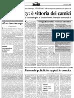 Sole 24 Ore Sanit 2-8 Marzo 2004 Assurdit Giuridica