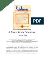 A_Questão da Palestina