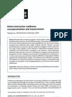 Liu Interaction Readiness