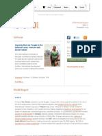 ICTJ World Report Issue 7 Decemeber 2011