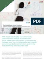 Burson-Marsteller 2010 Global Social Media Check-Up White Paper