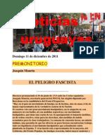Noticias Uruguayas Domingo 11 de Diciembre de 2011