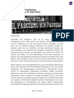 Italienischer Faschismus - #06