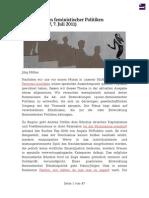 Entwicklungen feministischer Politiken - #07