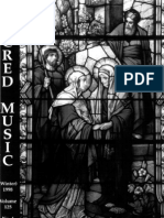 Sacred Music, 125.4, Winter 1998; The Journal of the Church Music Association of America