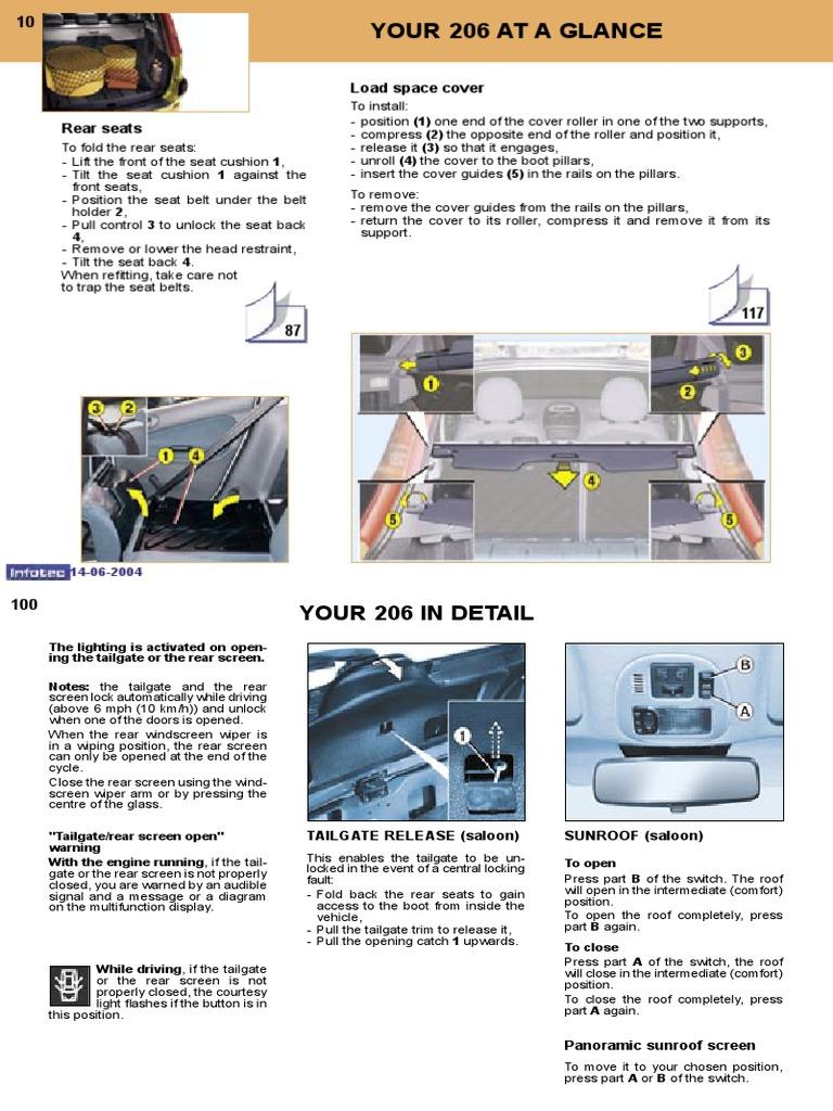 peugeot 206 owners manual 2004 anti lock braking system airbag rh scribd com 206 gti 180 service manual peugeot 206 gti owners manual pdf