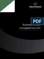 Etude Business Model Voyageprive