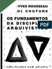 Os Fundamentos da Disciplina Arquivística[1]