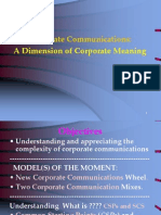 2...Corporate Communications a Dimension of Corporate Meaning