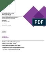 Social Media Analytics Nectar an Aimia Company by James Frost