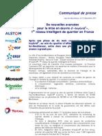 De nouvelles avancées pour la mise en oeuvre d'«IssyGrid®», 1er réseau intelligent de quartier en France