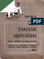 Raytheon Transistor Applications Volume II